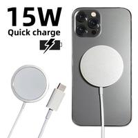 15ワット磁気ワイヤレス充電器12プロマックスミニチー急速充電器usbタイプc 20ワットpdアダプタiphone充電器magsafing