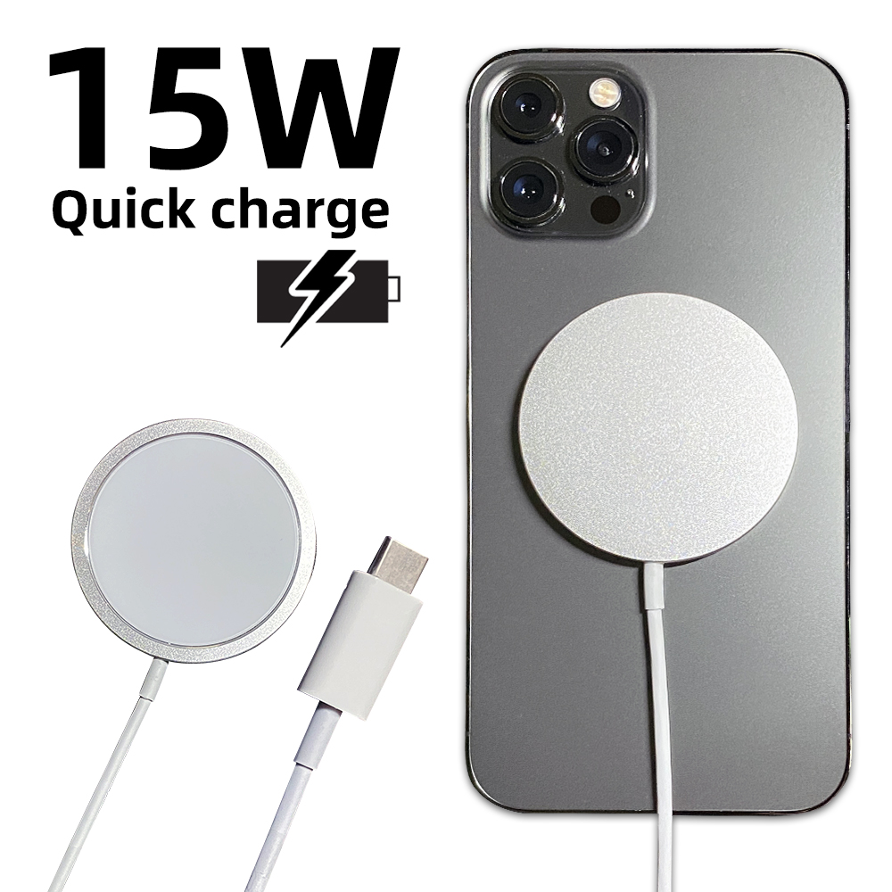 Original 15W Magnetic Wireless Charger For iPhone 12 Pro Max Mini Qi Fast Charger for iPhone 12 USB C 20W PD Adapter Magsafing
