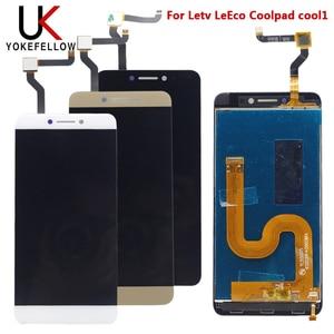 "Image 1 - 5.5 ""ل Leeco كول 1 عرض ل Letv LeEco Coolpad cool1 كول 1 C106 C106 9 c106 7 شاشة LCD عرض محول الأرقام الجمعية"