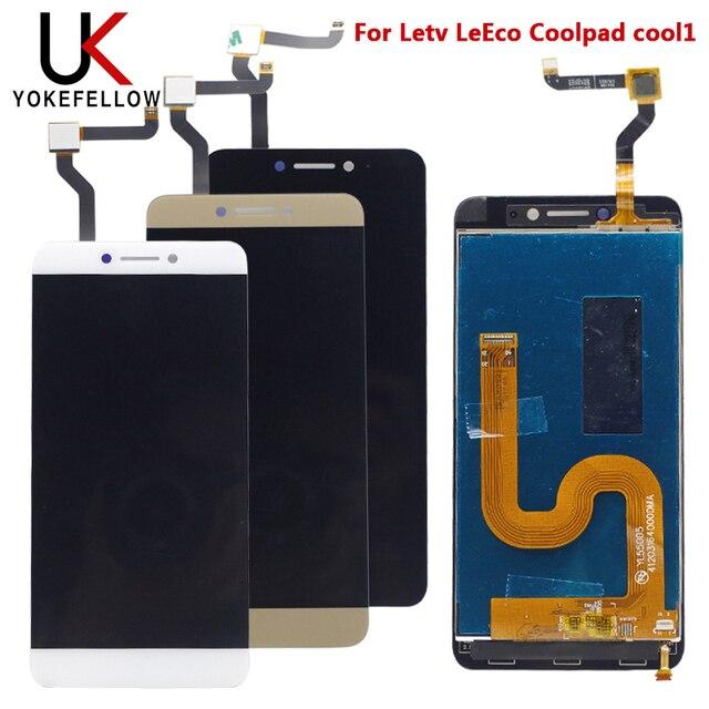 """5.5 """"leecoクール 1 ディスプレイletv leeco coolpad cool1 クール 1 C106 C106 9 c106 7 液晶画面表示デジタイザアセンブリ"""