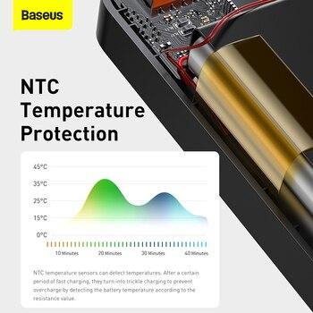 Внешний аккумулятор Baseus на 30000 мАч с поддержкой быстрой зарядки 6