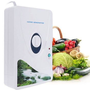 Home Water Ozone Generator Fruit and Vegetable Detoxification Ozonator 0-60min Timing Deodorizing Air and Water Purifier U1JE