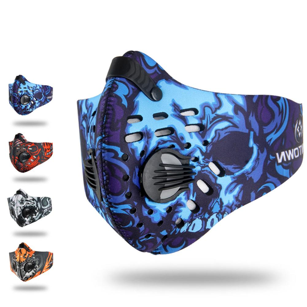 Antivirus Infection Mask Dustproof Mask Activated Carbon Filtration   Mask Filter PM 2.5 Anti Pollution Mask For Outdoor