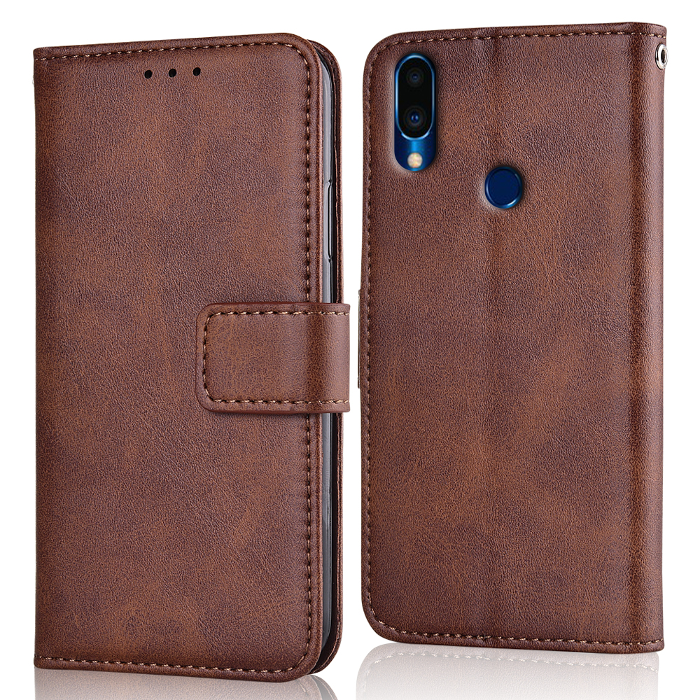 Note 9 Case Slim Leather Flip Cover for Meizu Note 9 Note9 Case Wallet Magnetic case for Meizu Note 9