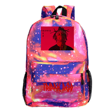 Trippie Redd (Trippie) Backpack 2020 New Fashion Neutral Large Capacity Backpack Nylon Student Backpack