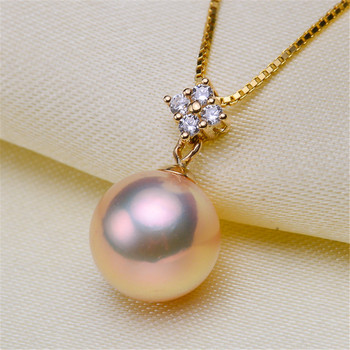 18karat gold pendant clasp connector,bead caps with peg for half drilled beads pendant necklace diy no pearl no chain