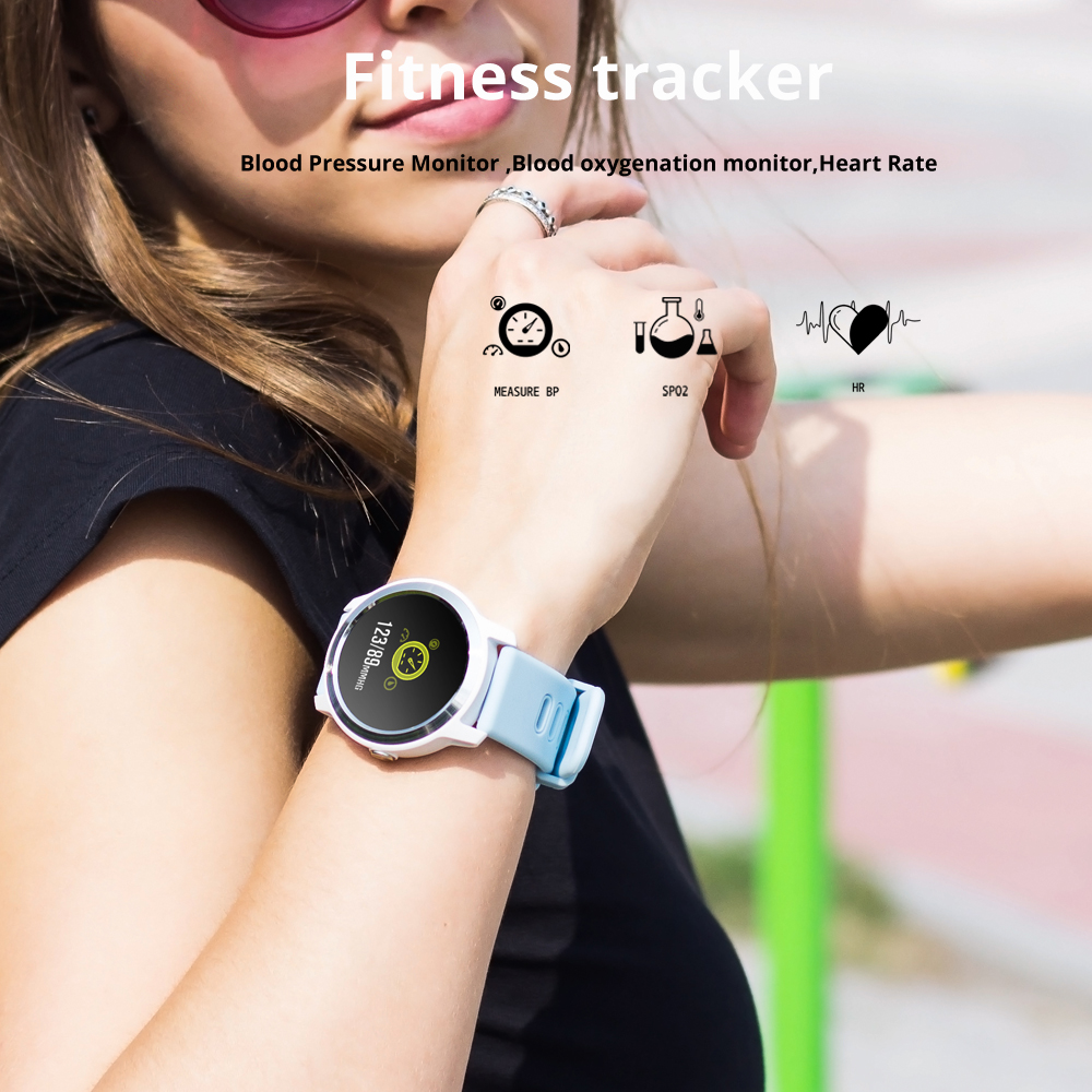 2019 New SENBONO <font><b>S08</b></font> plus Women/Men Smart Watch Blood Pressure Heart Rate Monitor IP68 Waterproof <font><b>Smartwatch</b></font> for Android IOS image