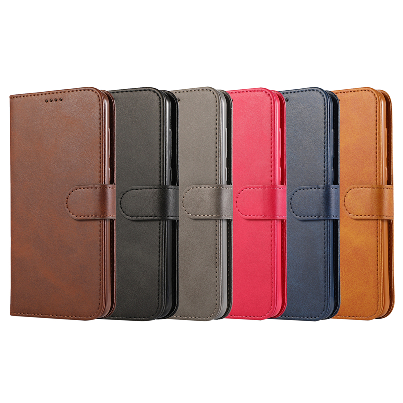 For Galaxy A40 Phone Accessories Simple Fashion Leather Flip Wallet Case For Samsung Galaxy A40 Card Cover Protection Carcasa
