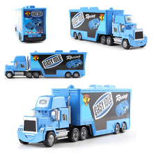Kids Toys Container Trailer Idle Disney Model-Toy Truck-Box Lightning Mcqueen Pixar Car