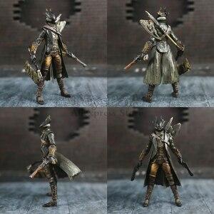 "Image 2 - Game Bloodborne Hunter 6"" Action Figure 1/12 15cm Figures KOs FGM 367 MF Masaki APSY Doll Toys Model Figurine"