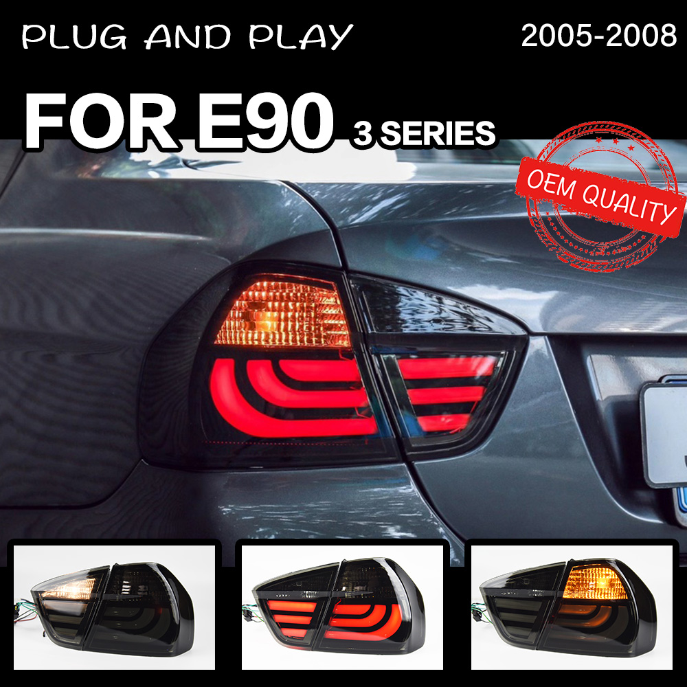 Car Styling tail light for BMW E90 3 Series 318i 320i 325i taillights rear lamp LED Signal reversing parking lights image