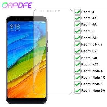 Перейти на Алиэкспресс и купить 9H Премиум Закаленное стекло для Xiaomi Redmi 5 Plus 5A 4 4X 4A S2 Go K20 Note 4 4X 5 5A Pro Защитная пленка для экрана