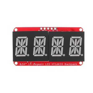 Image 2 - LEORY 5 قطعة 4 بت Pozidriv 0.54 بوصة 14 قطعة LED أنبوب الرقمية وحدة الأحمر I2C التحكم 2 خط التحكم LED وحدة شاشة عرض