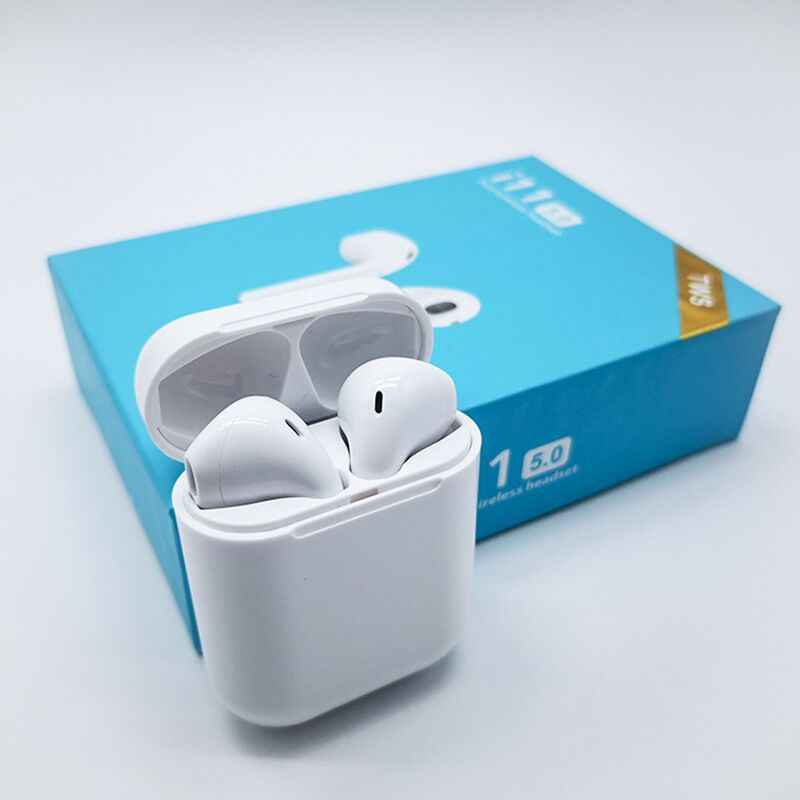 i11 TWS Wireless Airpods Bluetooth 5.0 Touch Function for iPhones and Android Smartphones 12