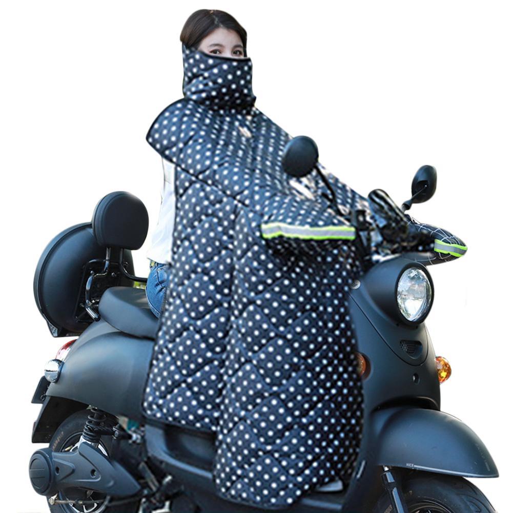 Motorbike Scooters Leg Cover Knee Blanket Warmer Warmer Rain Wind Protection Windproof Waterproof Winter Motorcycle Quilt