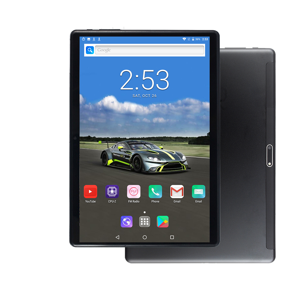 S116 Tablet 1280*800 MT6797 6G 64GB 128GB Deca Core Dual SIM Call Phone WIFI GPS Glass Screen 10 Inch Tablets PC Android 9.0