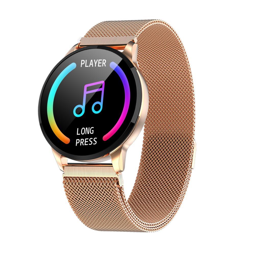 KARUNO Y16 Smart Horloge Vrouwen Digitale Horloges Vrouwelijke Periode Herinnering HeartRate Waterdichte Horloges Colories Stap