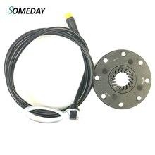 Когда-нибудь Электрический велосипед PAS Assist сенсор педаль E велосипед KT 8 магнитов детали для электровелосипеда SM водонепроницаемый разъем
