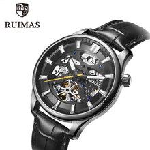 RUIMAS Men Luxury Top Brand Automatic Mechanical Watch Fashion Business Male  Shockproof Luminous Wristwatch цена и фото