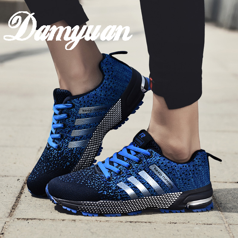 Damyuan Running Shoes Fashion Breathable Sneaker Running Shoes 47 46 Large Size Comfortable Sports Men's Walking Jogging Shoes