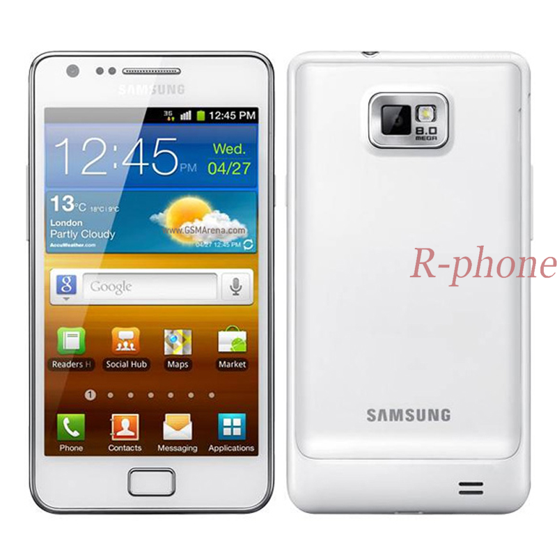 Original Refurbished SAMSUNG Galaxy S2 i9100 Mobile Phone Unlocked 3G Wifi 8MP Android Phone mobile phone