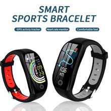 F21 Smart Watch Anti-Lost Camera Remote Control Distance tracking Blood Pressure Oxygen Fitness bracelet Bluetooth 4
