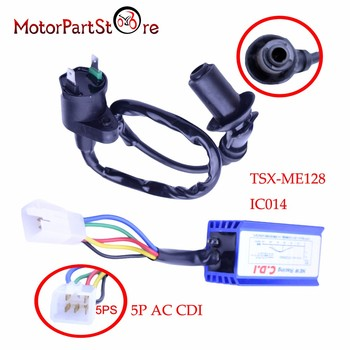 Hot Selling Black Ignition Coil + 5 Pin AC CDI Fit Honda XR50 CRF50 Dirt Pit Motor Bike 110cc 125cc Gokart Motorcycle Engine D20 image