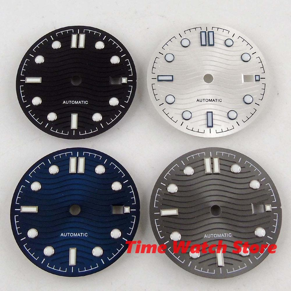 Watch Dial 30.8mm Sterile Fit DG 2813 3804 Miyota 8215 Movement Watch D164