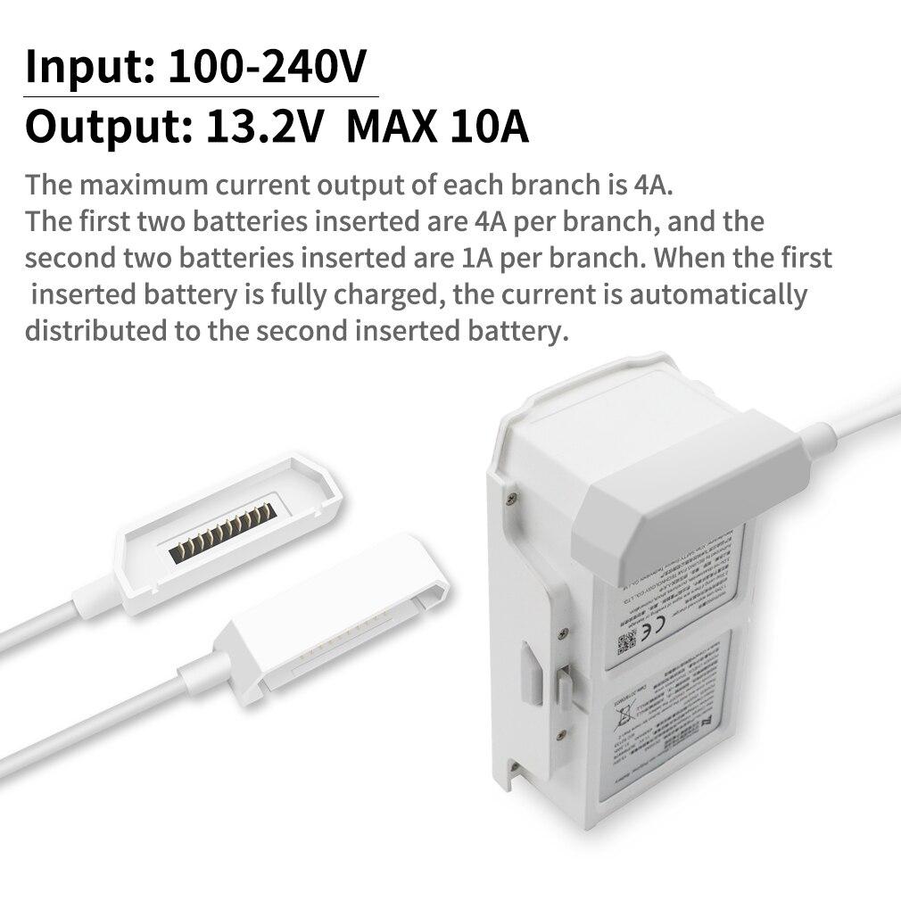 se zangão bateria carregamento hub inteligente carregador
