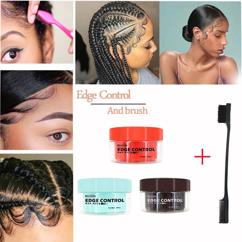 XY Fancy Men Female Hair Oil Wax Cream Edge Control Hair Styling Cream Broken Hair Finishing Anti-Frizz Hair Fixative Gel Chic