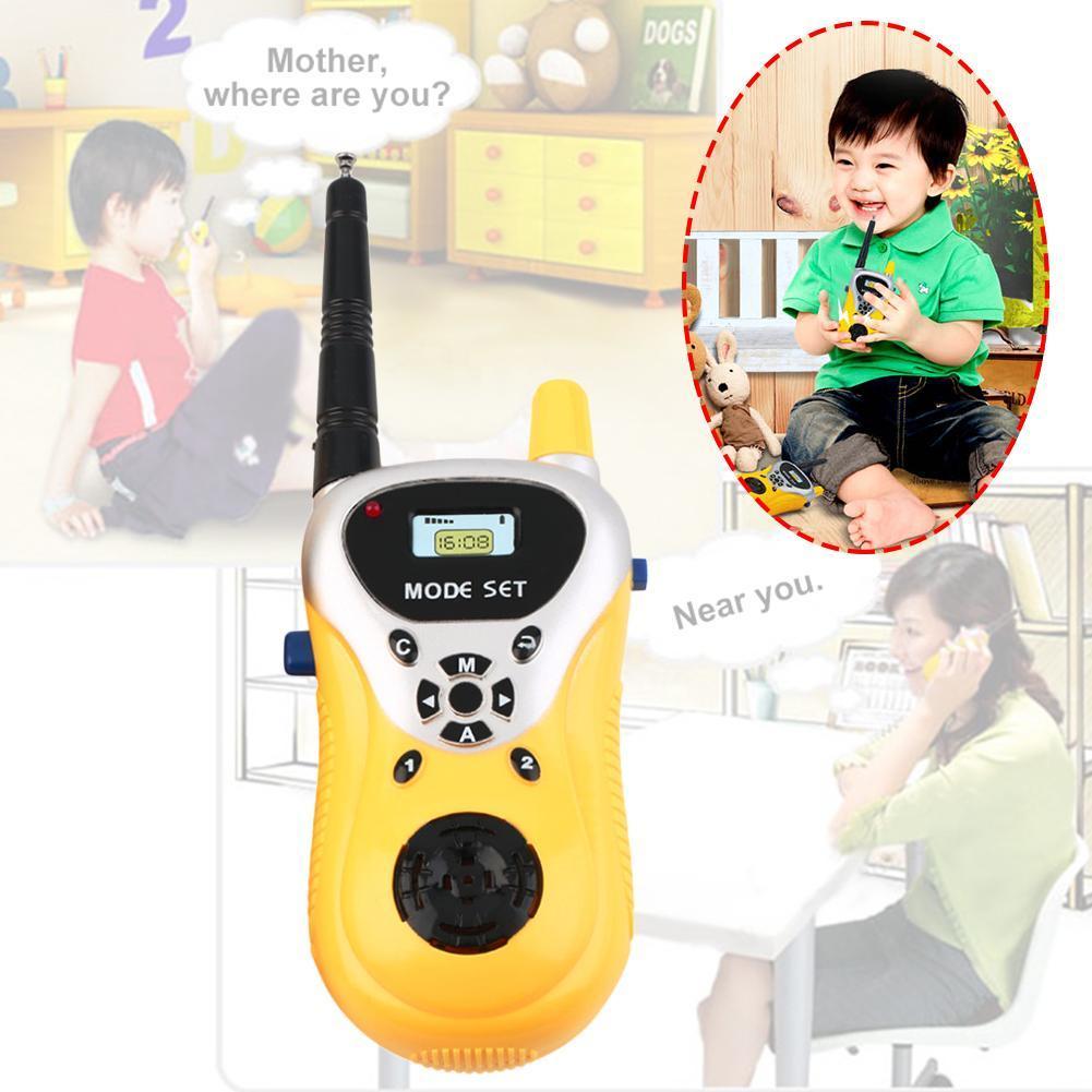 Hot! Intercom Electronic Walkie Talkie Kids Child Mni Toys Portable Two-Way R