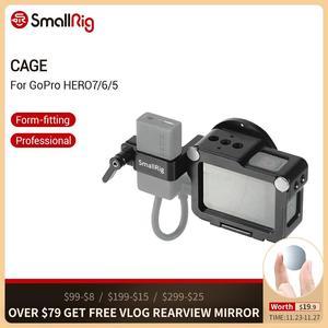 Image 1 - Cage de montage pour GoPro HERO 7/6/5 avec sabot froid + Support de filtre 52mm + Support de processeur Audio 2320