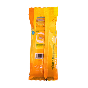 Станок для бритья RZR Iguetta GF2-1721, 2 шт желтый 3