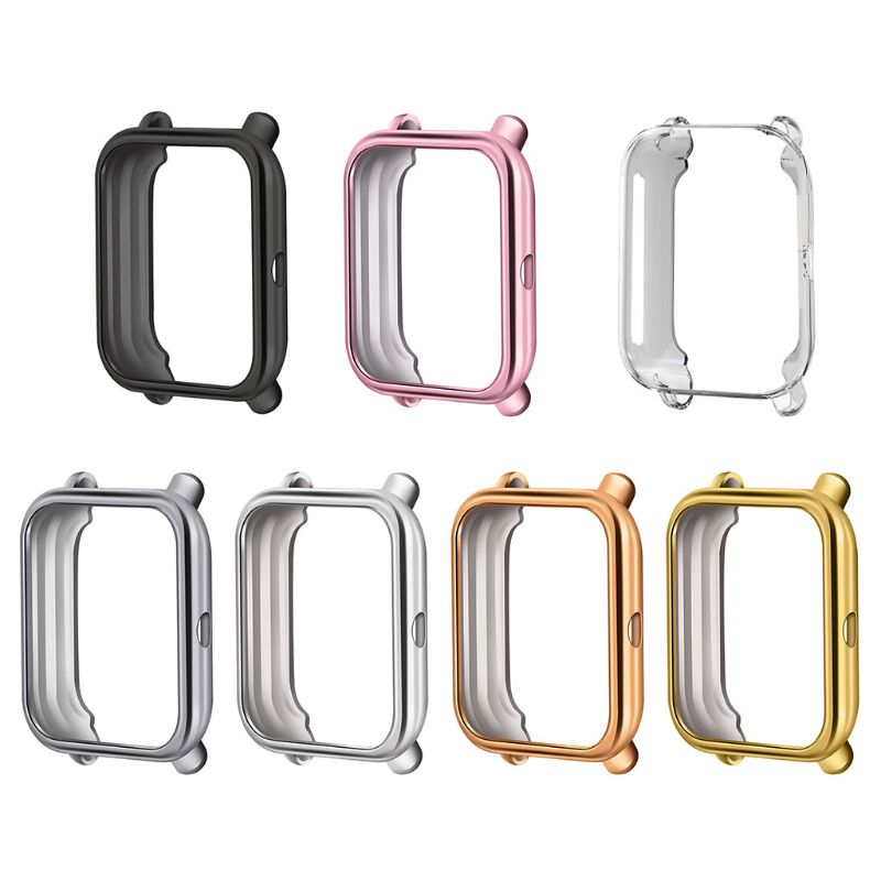 Replaced Hard TPU Protector Watch Case Protective Cover Frame For Huami AMAZFIT Bip Youth Sports Smart Watch Accessories