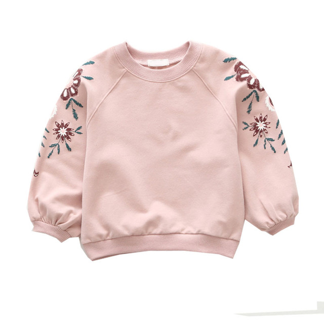 Baby Clothes Top Girl Long Sleeve Sweatshirt Baby Girl T-Shirt Top Princess Kids Clothes Girl Clothing Fashion Blouse T-Shirts 2