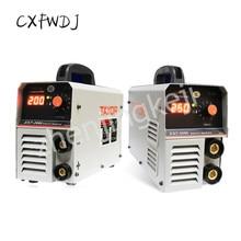 Сварочный аппарат однофазный цифровой дисплей 220 В напряжение ZX7-200I 250I бытовой промышленный двухцелевой сварочный аппарат для меди