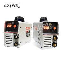 лучшая цена Welding Machine Single-Phase Digital Display 220V Voltage ZX7-200I 250I Household industrial Dual-purpose Copper Welding Machine