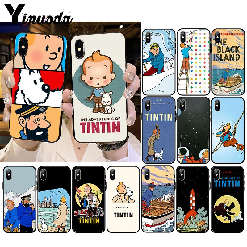iphone 7 coque tintin