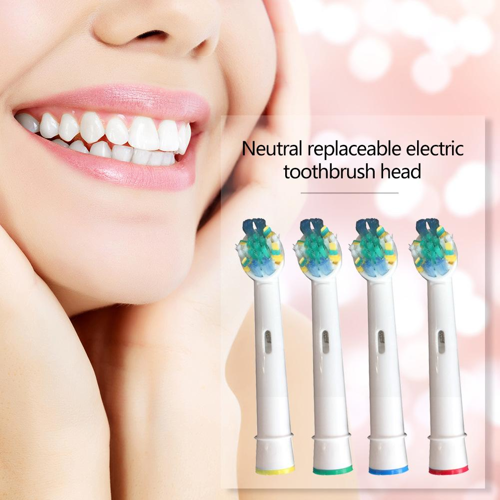 4pcs/set Electric Toothbrush Heads Teeth Cleaning Tooth Brush Replacement Heads for Braun Oral-B Electric Toothbrush image