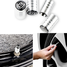 Valve-Caps Adapter Car-Accessories Soul Tire Sorento Bolt Round 4pcs for KIA K2 K3 K4