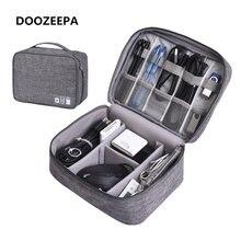 Doozeepa цифровая дорожная сумка большая емкость электронный