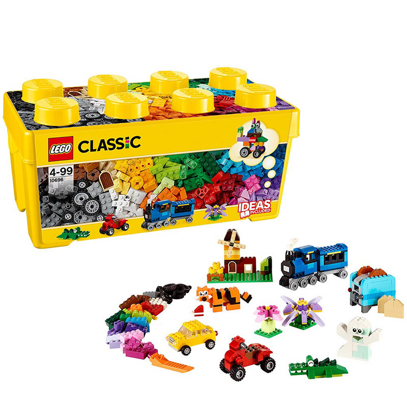 Genuine Product <font><b>LEGO</b></font> <font><b>Lego</b></font> Building Assembled Toys <font><b>Classic</b></font> Creative Series Wood Small Particles Bottom Plate <font><b>10696</b></font> image