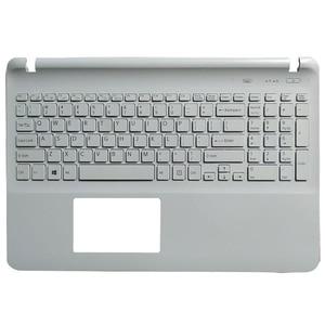 Клавиатура для ноутбука sony Vaio SVF152A29M SVF152a29u белая клавиатура без сенсорной панели