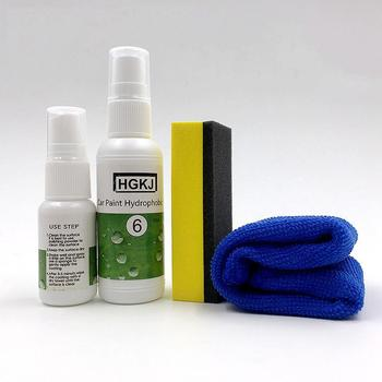 HGKJ Super Hydrophobic Paint Coating Kit Anti-Scratch Exterior Care Paint Sealant Car Wash Accessories