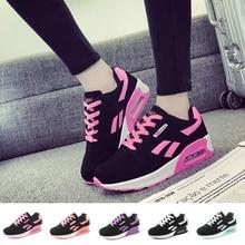 Tênis feminino sapatos de tênis ultra leve ar amortecimento couro feminino tênis esporte sapato formadores tenis feminino cesta femme chaussure