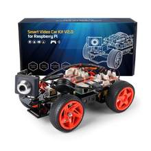SunFounder App Remote Controlled Robot For Raspberry Pi Model 4B 3B+ B 2B Smart Video Car Kit V2.0 RC Car (RPi Not included)(China)