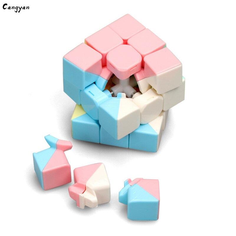 Game Professional Rubik's Third-order Intelligence Variety Rubik's Cube Korea Hot Macaron Toy