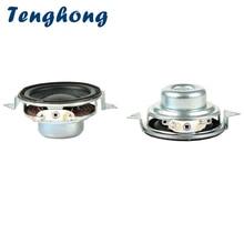 Tenghong 2 шт., 40 мм, Φ 2 Ом, 5 Вт, 16 ядер, полный диапазон динамиков, бас, мультимедийный громкоговоритель для домашнего кинотеатра, «сделай сам»