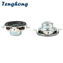 Tenghong 2 Stuks 40 Mm Draagbare Audio Speaker 2Ohm 5W 16 Core Full Range Luidsprekers Bass Multimedia Luidspreker Voor home Theater Diy