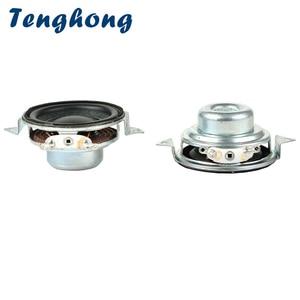 Image 1 - Tenghong 2pcs 40MM Portable Audio Speaker 2Ohm 5W 16 Core Full Range Speakers Bass Multimedia Loudspeaker For Home Theater DIY